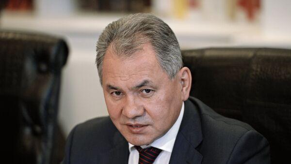 Serguéi Shoigú, ministro de Defensa de Rusia - Sputnik Mundo
