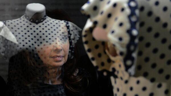 La presidenta Cristina Fernández de Kirchner inauguró la muestra Evita, la embajadora de la paz en el Museo Histórico de Moscú - Sputnik Mundo
