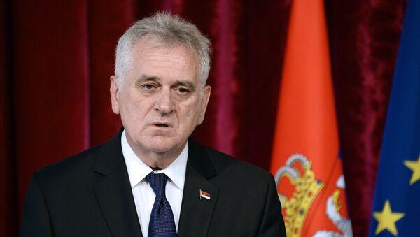 Tomislav Nikolic, presidente de Serbia - Sputnik Mundo