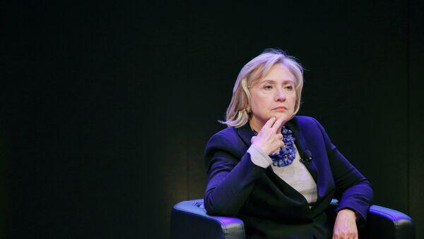 Former Secretary of State Hillary Rodham Clinton - Sputnik Mundo
