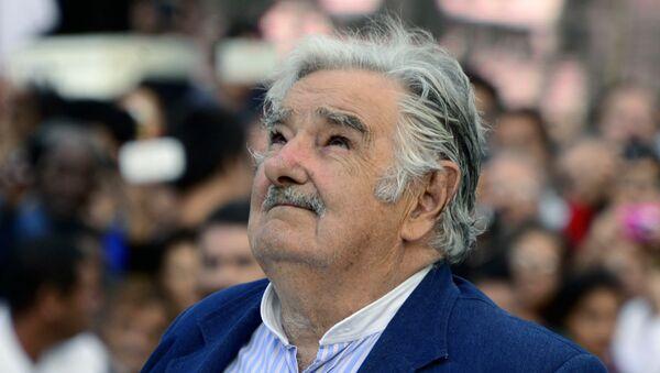 José 'Pepe' Mujica, expresidente de Uruguay - Sputnik Mundo