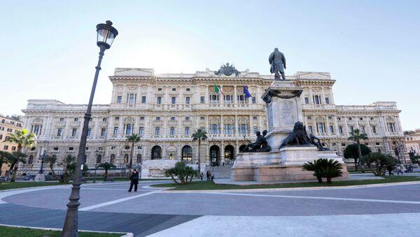Corte de Apelación de Italia en Roma (Archivo) - Sputnik Mundo