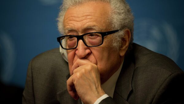 Lajdar Brahimi, ex enviado especial de la ONU y la Liga Árabe para Siria - Sputnik Mundo