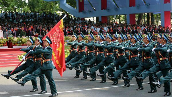 Fuerza Aérea de Vietnam participa en un desfile a la celebración del 40 aniversario del fin de la guerra de Vietnam - Sputnik Mundo
