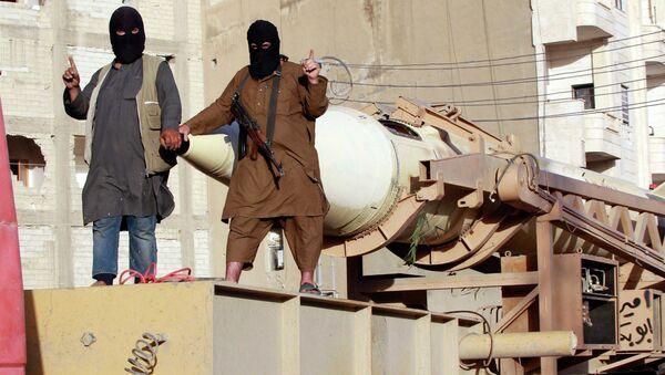 Islamic State Fighters - Sputnik Mundo