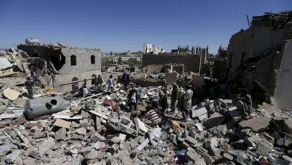 Situación en Saná después del ataque aereo de la coalición liderada por Arabia Saudí - Sputnik Mundo