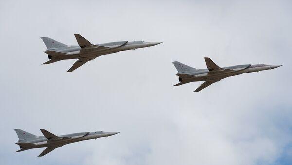 Bombarderos estratégicos Tu-22M3 - Sputnik Mundo