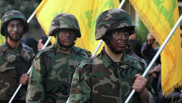 Los combatientes de Hizbulá - Sputnik Mundo