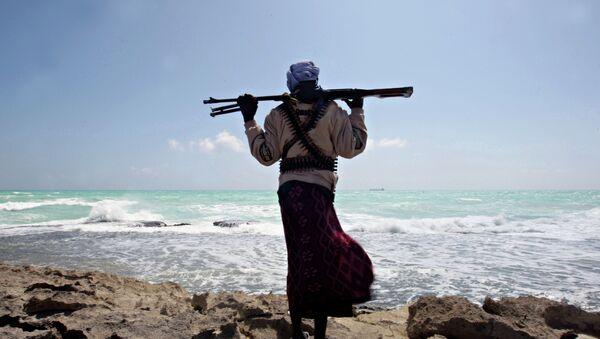 Un pirata africano - Sputnik Mundo