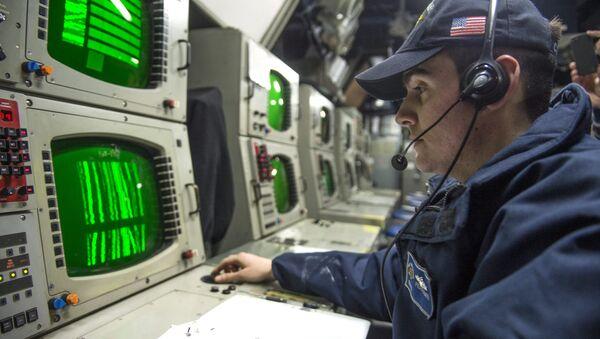 Tripulación del submarino USS Viksburg (archivo) - Sputnik Mundo