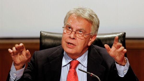 Felipe González, expresidente del Gobierno español - Sputnik Mundo