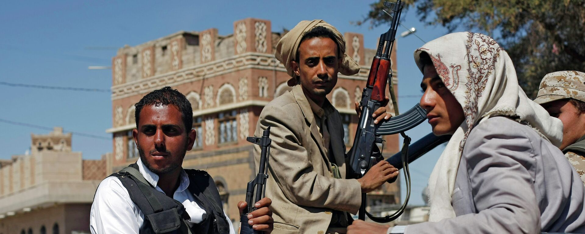 Hutíes en Saná, Yemen - Sputnik Mundo, 1920, 17.02.2021