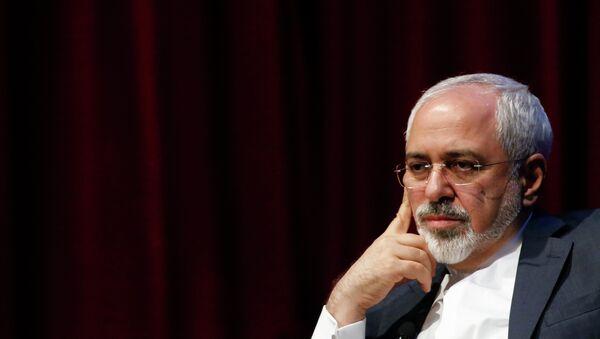 Mohamad Yavad Zarif, ministro de Asuntos Exteriores de Irán - Sputnik Mundo