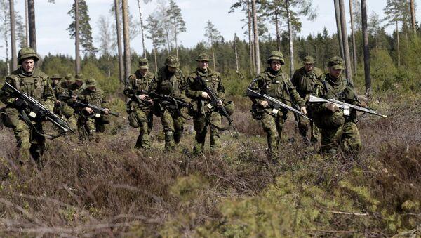 Maniobras de la Otan Siil 2015 en Estonia - Sputnik Mundo