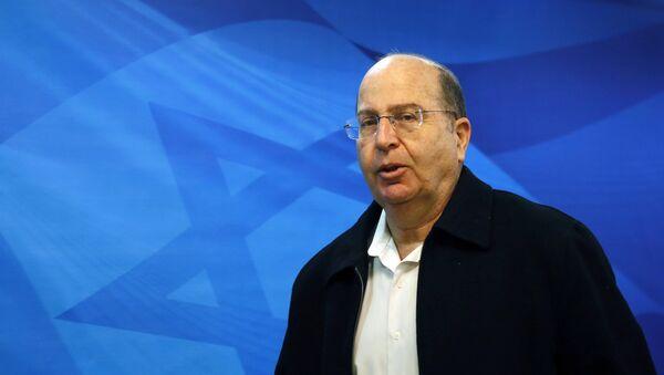 Moshe Yaalon, ministro de Defensa de Israel - Sputnik Mundo