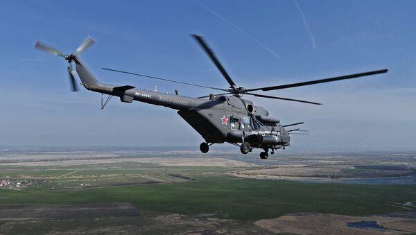 Helicóptero de transporte y combate Mi-8AMTSh (Mi-171Sh) - Sputnik Mundo