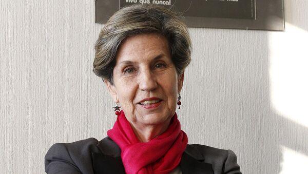 María Isabel Allende Bussi, nueva presidenta del Partido Socialista de Chile - Sputnik Mundo