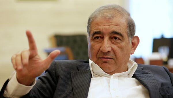 Líder del Frente Nacional para Liberación de Siria Qadri Jamil - Sputnik Mundo