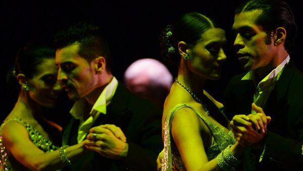 Espectáculo Tango & Noche en el teatro moscovita Mossovet - Sputnik Mundo
