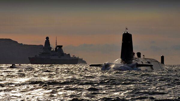 Submarino de clase Vanguard - Sputnik Mundo