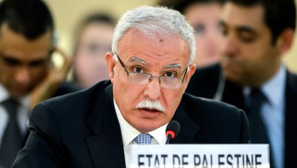 Riad Maliki, canciller de la Autoridad Nacional Palestina - Sputnik Mundo