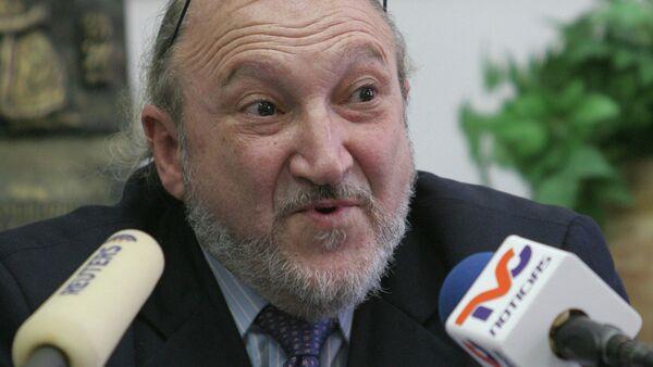 Aram Aharonian, fundador y exdirector de la cadena TeleSUR (archivo) - Sputnik Mundo