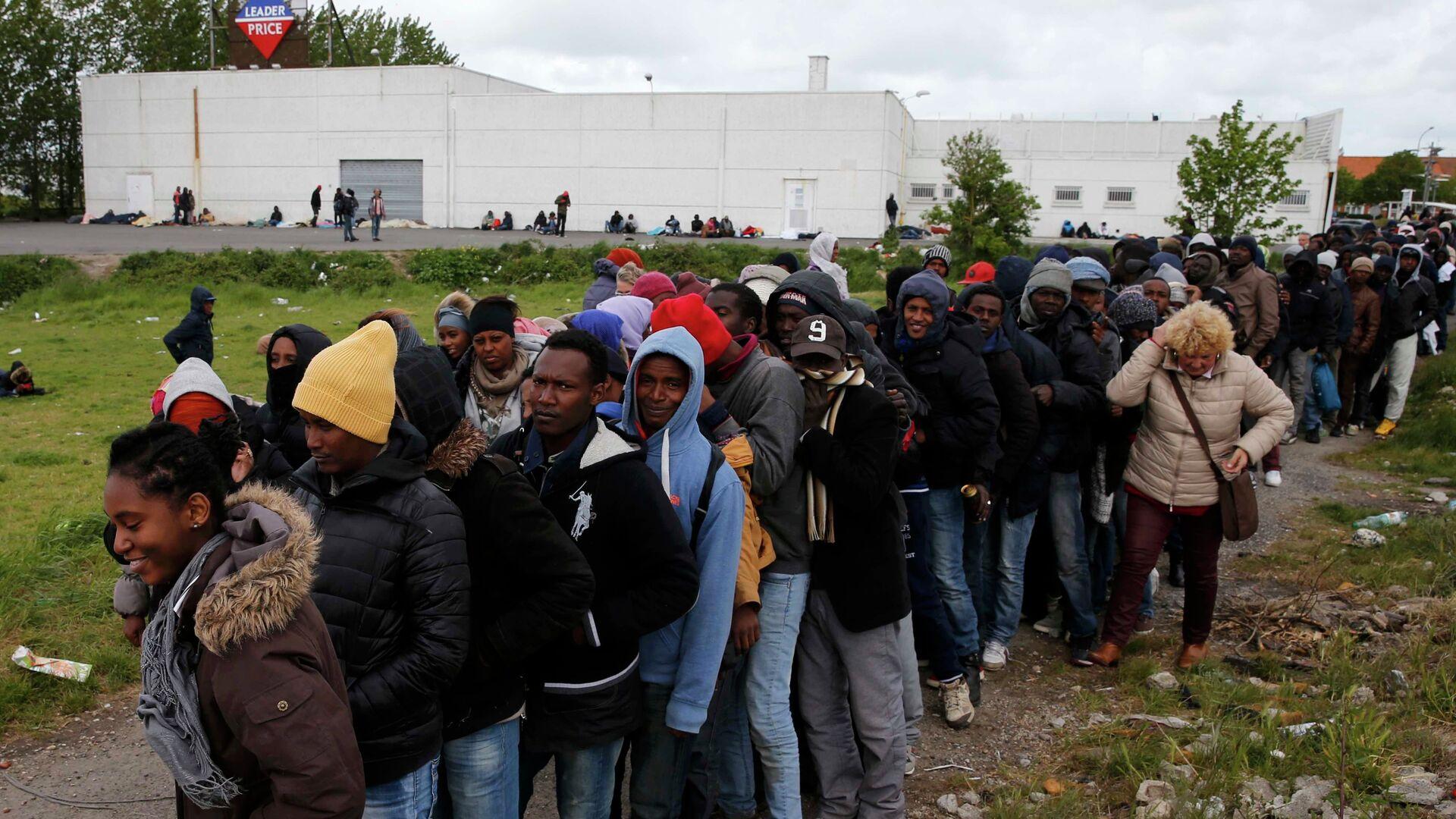 Migrantes en Francia - Sputnik Mundo, 1920, 28.09.2021