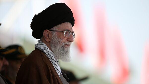 Ayatolá Alí Jameneí, líder supremo de Irán (archivo) - Sputnik Mundo