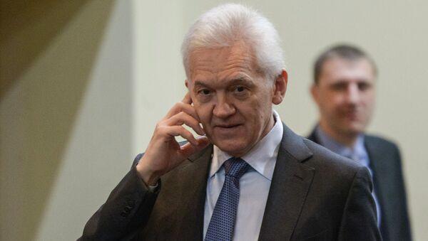 Guennadi Tímchenko - Sputnik Mundo