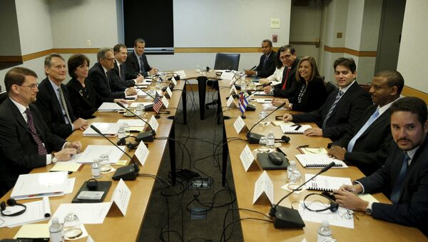 Negociaciones Cuba-EEUU en Washington - Sputnik Mundo