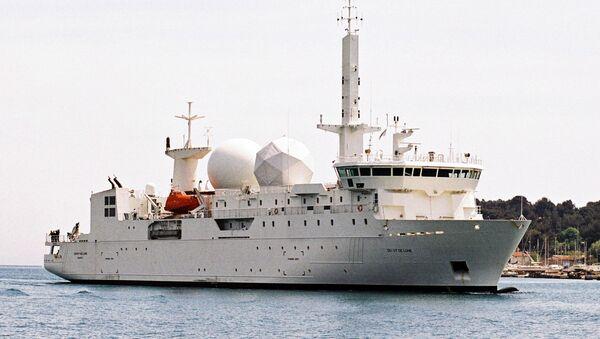El navío de inteligencia francés Dupuy de Lome - Sputnik Mundo