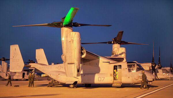 Aviones militares de las FFAA de EEUU en la base de Morón de la Frontera - Sputnik Mundo