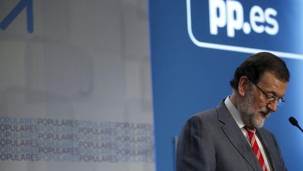 Mariano Rajoy, líder del Partido Popular - Sputnik Mundo