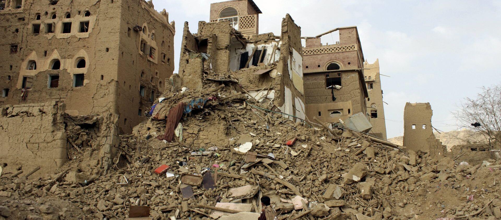 Situación en Yemen (Archivo) - Sputnik Mundo, 1920, 07.02.2021