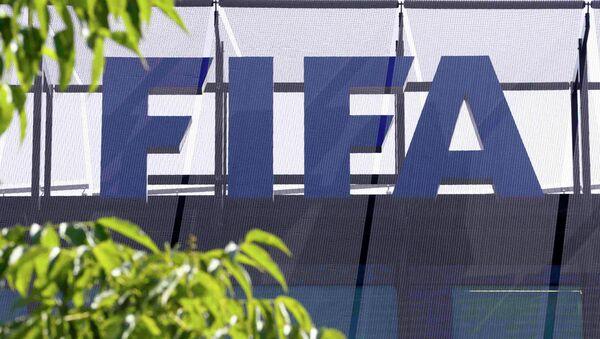 Logotipo de FIFA - Sputnik Mundo