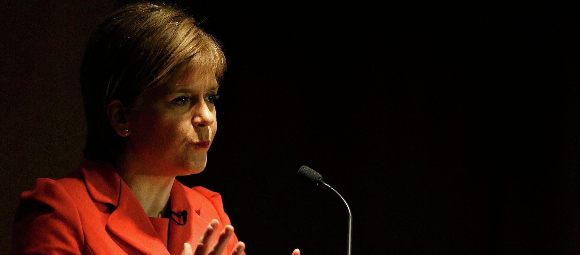 Nicola Sturgeon, ministra principal del Gobierno de Escocia - Sputnik Mundo, 1920, 01.01.2021