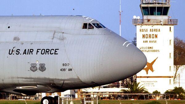 Aviones militares de EEUU en la base de Morón de la Frontera (Archivo) - Sputnik Mundo