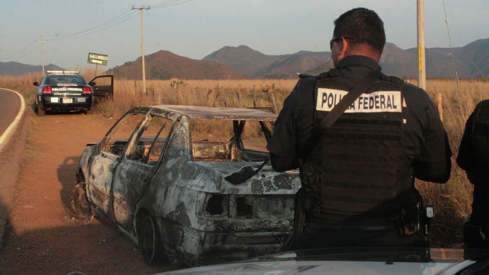 Policía de México - Sputnik Mundo, 1920, 30.03.2021