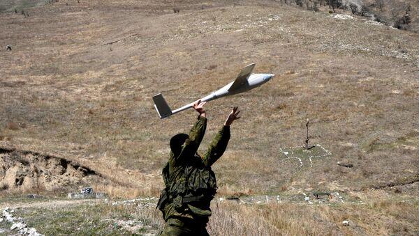 Ejercicios tácticos y especiales en los polígonos de Osetia del Norte-Alania - Sputnik Mundo