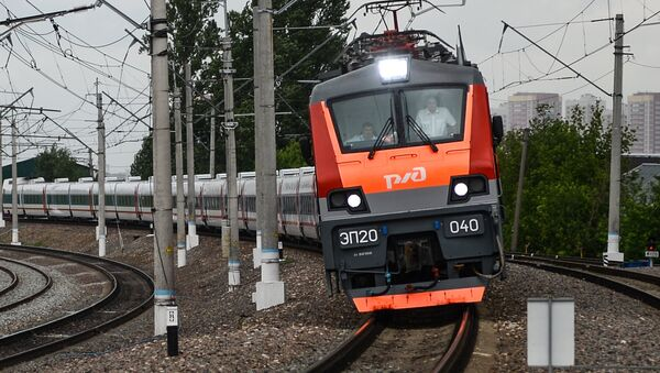 La industria española celebra la puesta de largo en Rusia de los trenes Talgo - Sputnik Mundo