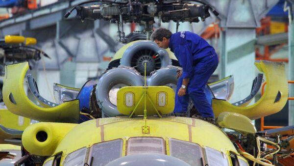 Construcción de un helicóptero - Sputnik Mundo