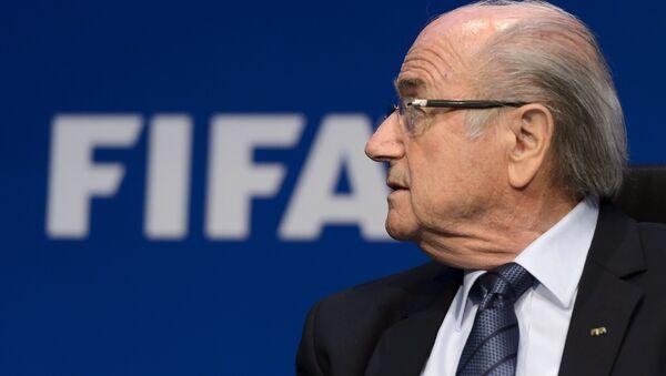 Joseph Blatter, expresidente de la FIFA - Sputnik Mundo