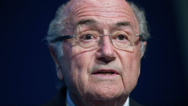 Joseph Blatter - Sputnik Mundo