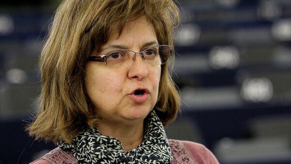 Paloma López, eurodiputada por Izquierda Unida (IU) - Sputnik Mundo