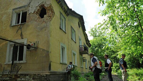 Observadores de la OSCE en Donbás - Sputnik Mundo