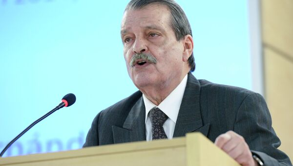 Abelardo Moreno, viceministro cubano de Exteriores - Sputnik Mundo