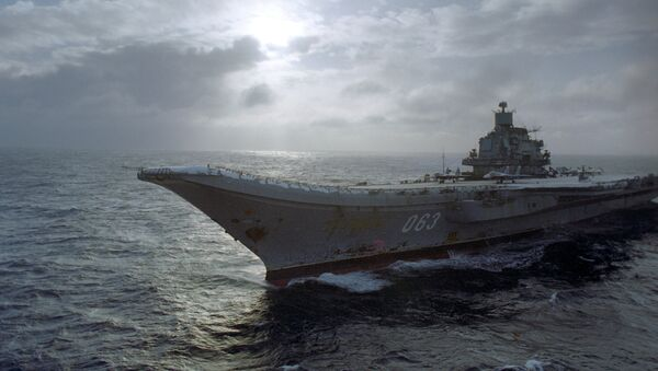Portaviones de la Armada de Rusia Almirante Kuznetsov - Sputnik Mundo
