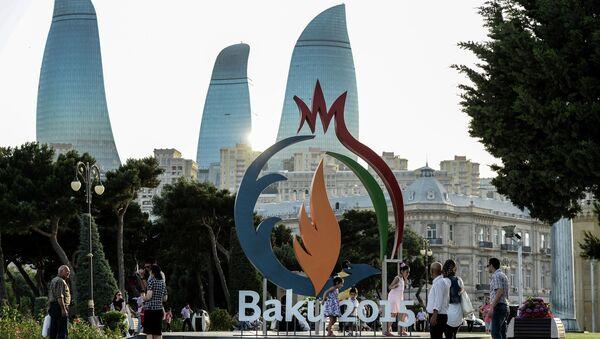 Juegos Europeos de 2015 en Bakú - Sputnik Mundo