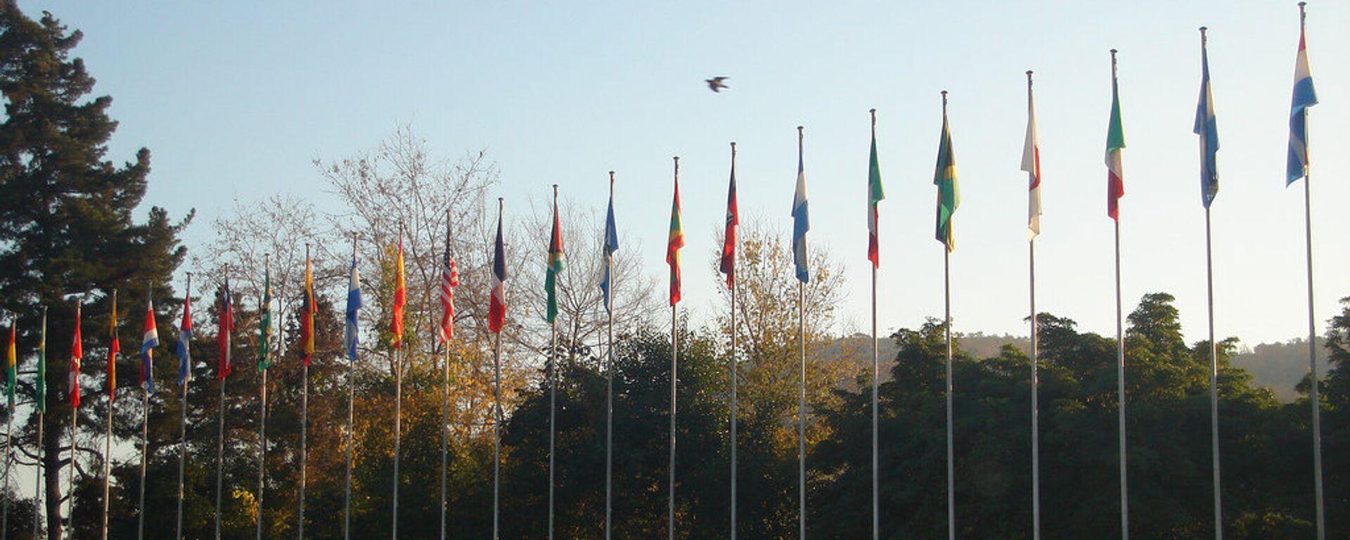 Banderas de la CEPAL - Sputnik Mundo, 1920, 18.09.2021