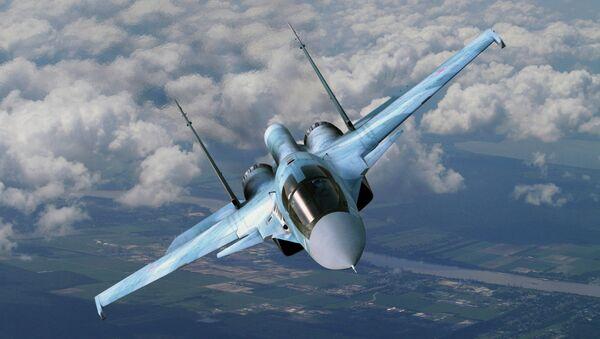 Un Su-34 ruso - Sputnik Mundo